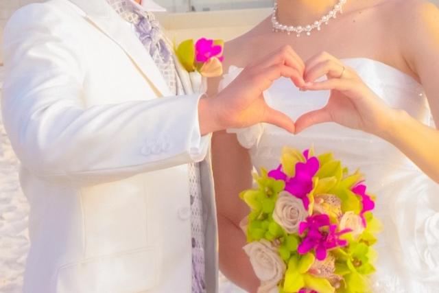 でき婚結婚式